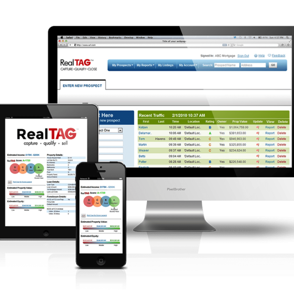 RealTAG lead qualification