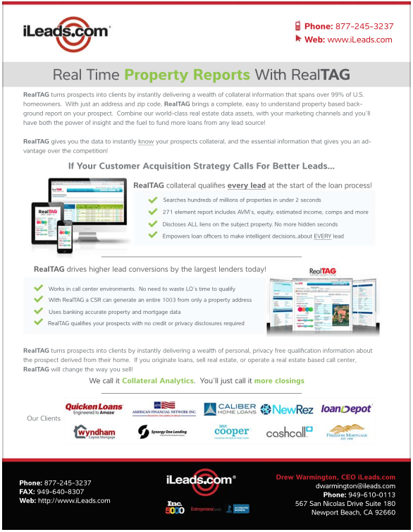Real Time Property Reports